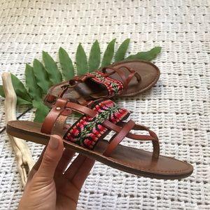 Mossimo (Target) | Chevron Design Sandals